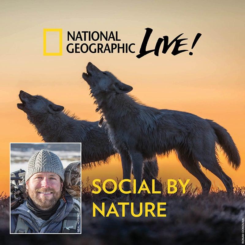 National Geographic Live! Ronan Donovan - Social by Nature