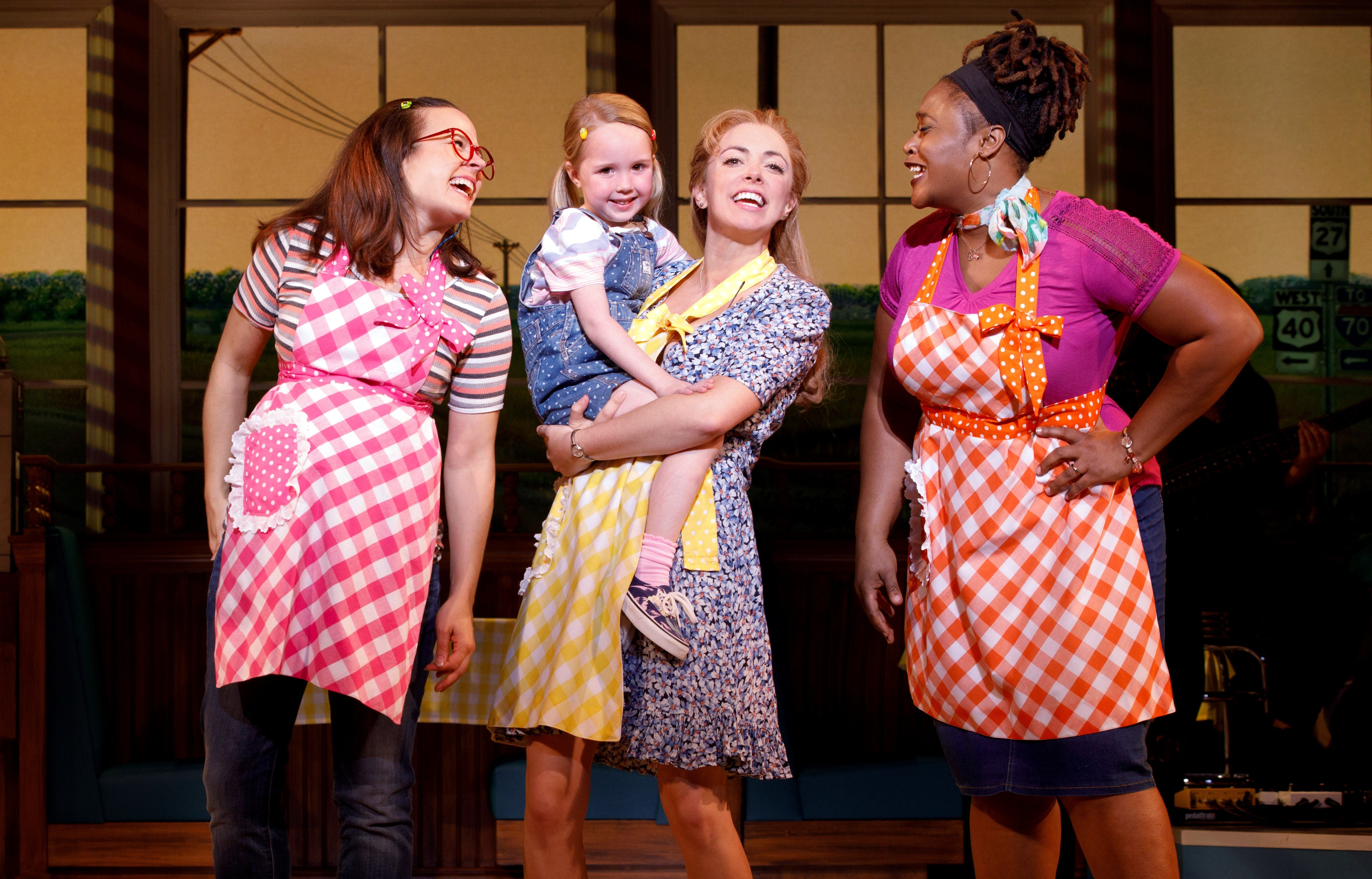 Ryan G. Dunkin and the Cast of the National Tour of WAITRESS  Credit Joan Marcus 0385r2.jpg